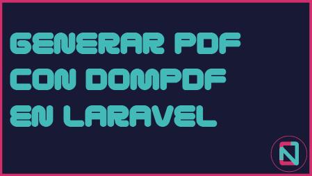 DOMPDF en Laravel